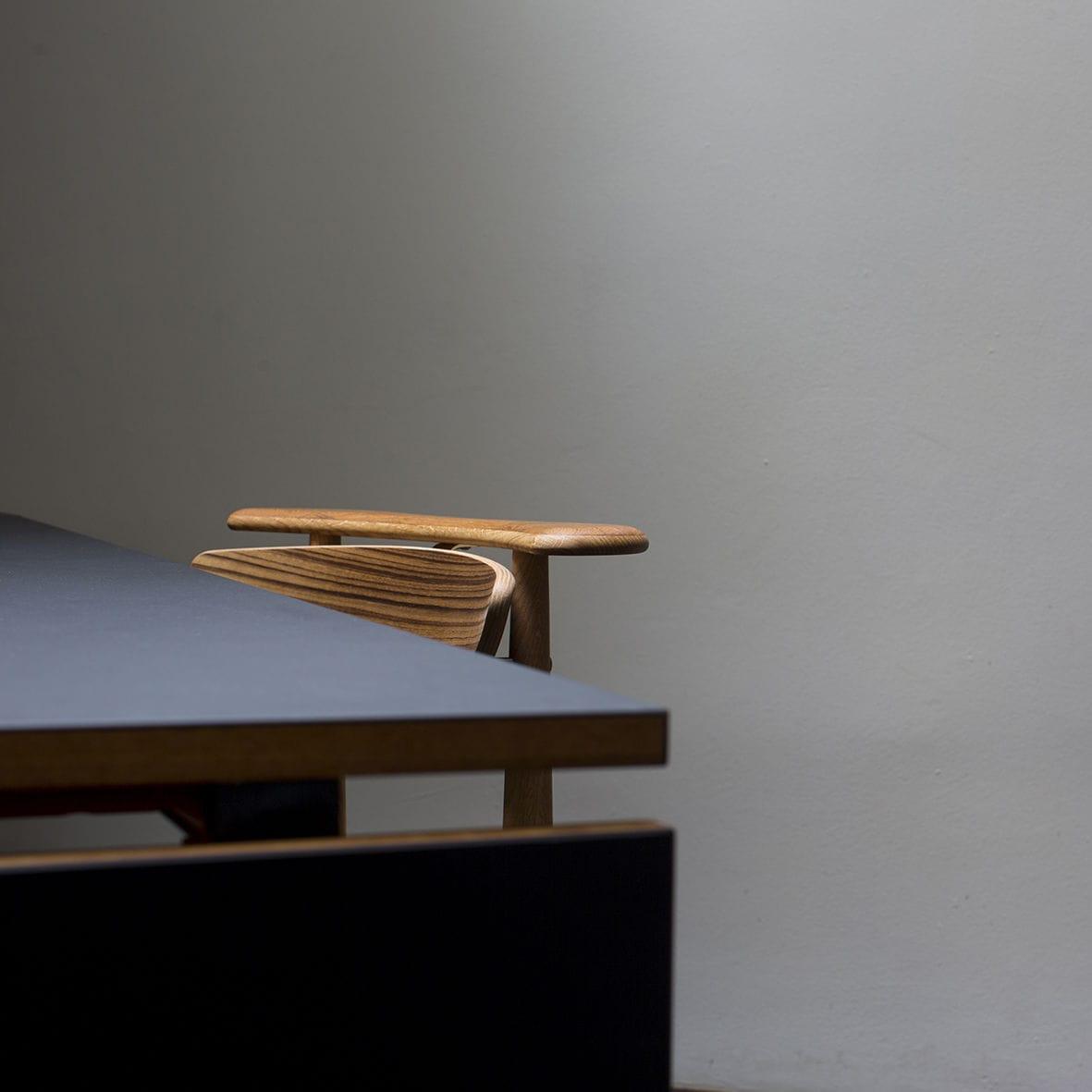 ... Scandinavian Design Dining Chair / Upholstered / Oak / Walnut