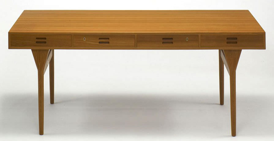 wooden desk scandinavian design nd 175dk by nanna ditzel kitani - Scan Design Desk