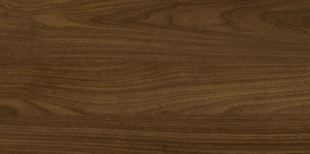 Mdf Laminated Panel For Furniture Smooth Wood Look Duramine American Black Walnut