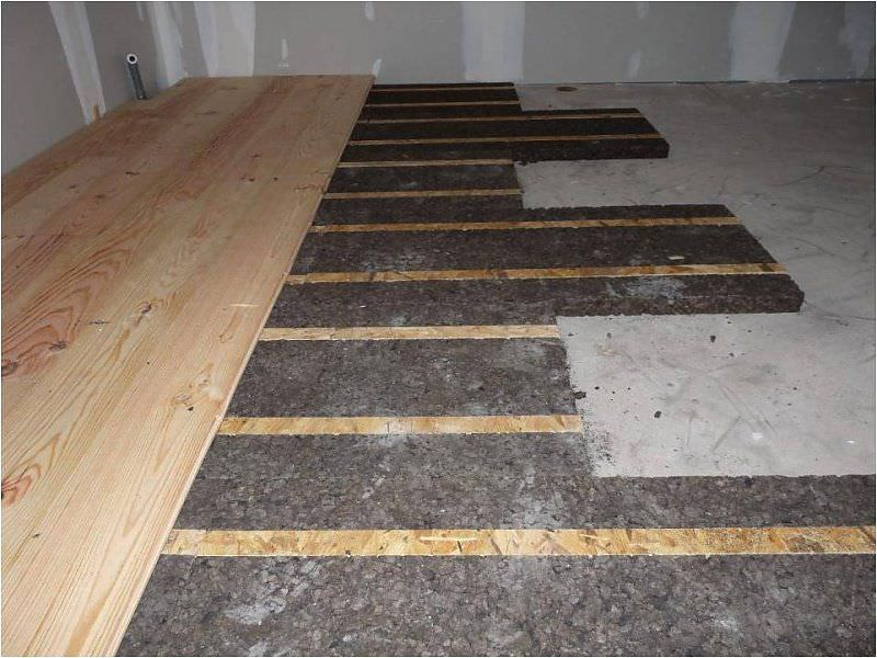 Thermalacoustic insulation cork for floors wall LAMBOURD