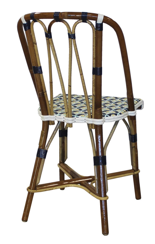 Traditional restaurant chair / bistro / rattan - BREBANT - Maison Gatti