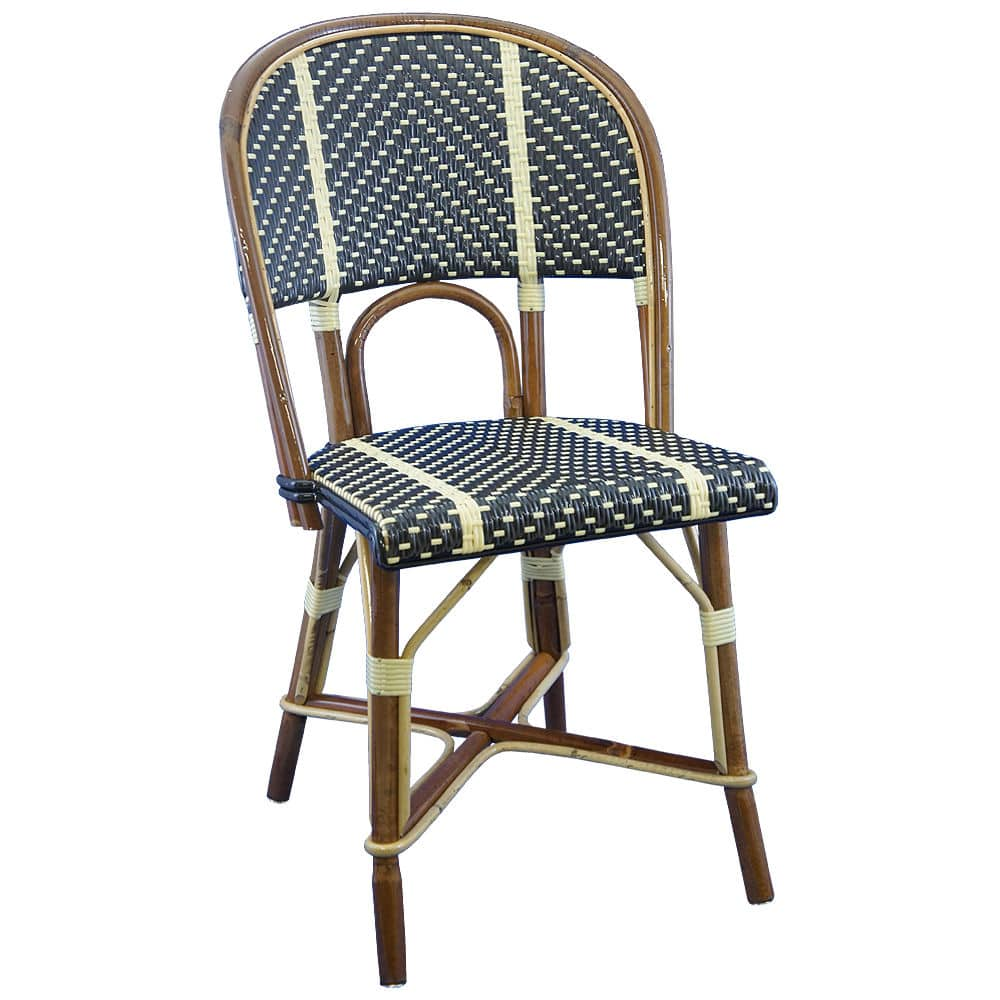 Traditional chair / rattan / commercial - CHAISE TUILERIES - Maison ...