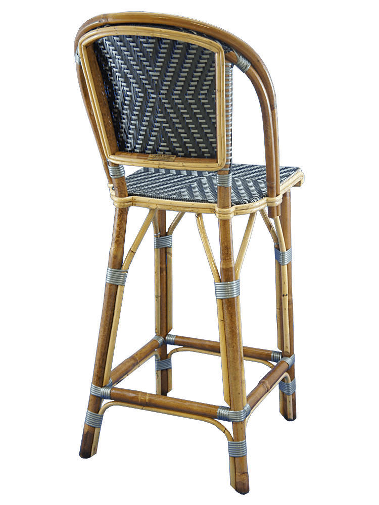 Traditional bar chair / rattan / bentwood / commercial - PERE ...