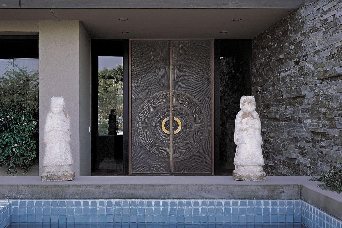 indoor door swing metal bonded formssurfaces - Porte D Entree Double