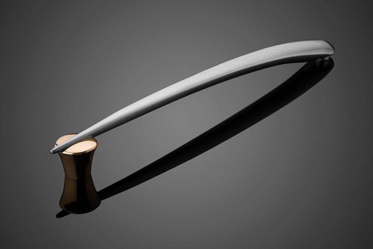 Door pull handle / bronze / stainless steel / contemporary - ORION ...