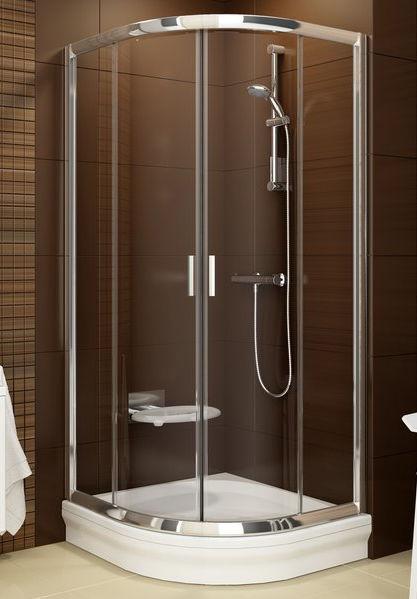 Sliding shower screen / corner / curved - BLIX: BLCP4 - RAVAK - Videos