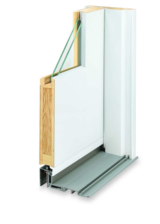 Sliding patio door / wooden / double-glazed - 400 - Andersen - Videos