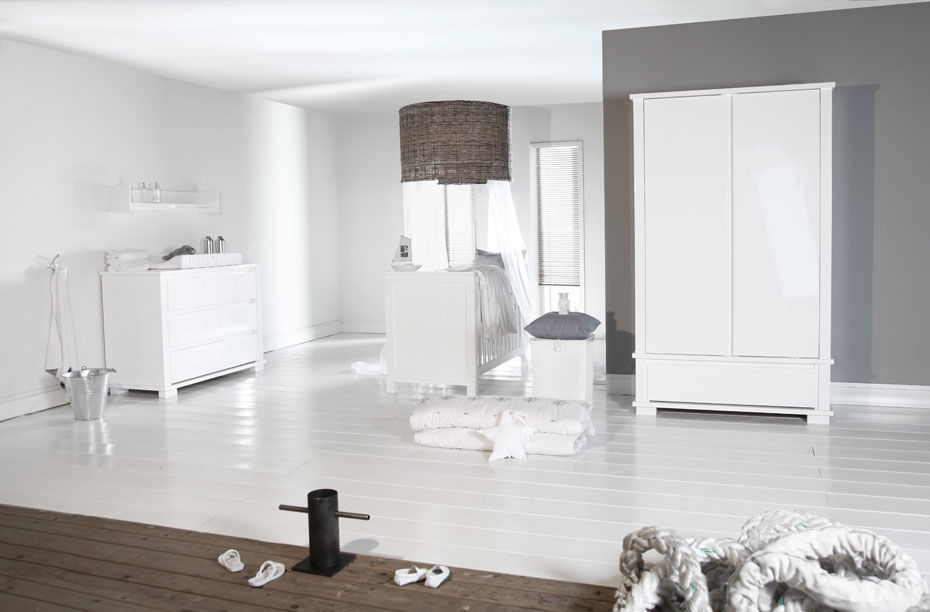 White Children S Bedroom Furniture Set Baby Marbella