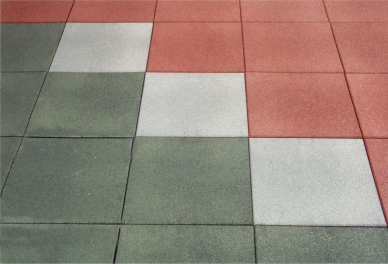 Rubber flooring / commercial / tile / textured - DALLASTIC - Dalsouple