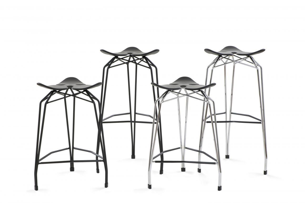 Contemporary Bar Stool DIAMOND BAR STOOL By Stolt Design Kubikoff - Diamond bar table