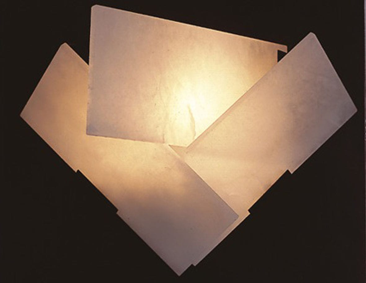 Art Deco wall light / alabaster / by Pierre Chareau - FLY - Galerie ...