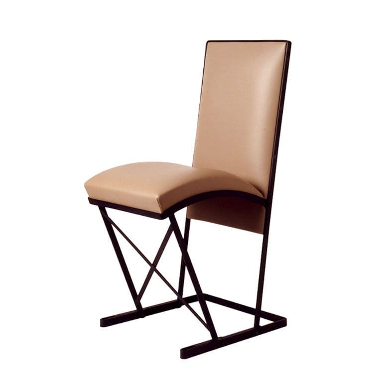 Art Deco chair fabric leather by Pierre Chareau CHR 028B – Pierre Chair
