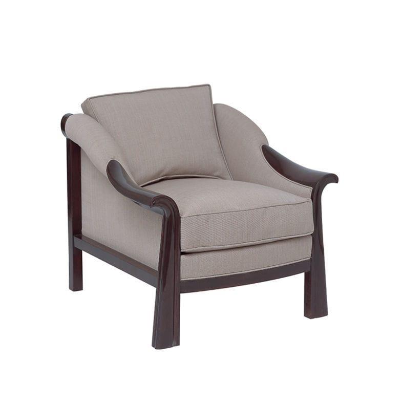 Bon Art Deco Armchair / Fabric / By Pierre Chareau   ACH 033