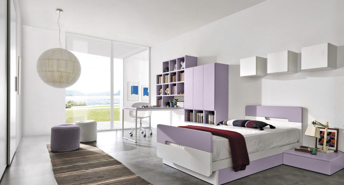 Girls childrens bedroom furniture setwhiteZ015ZALFVideos