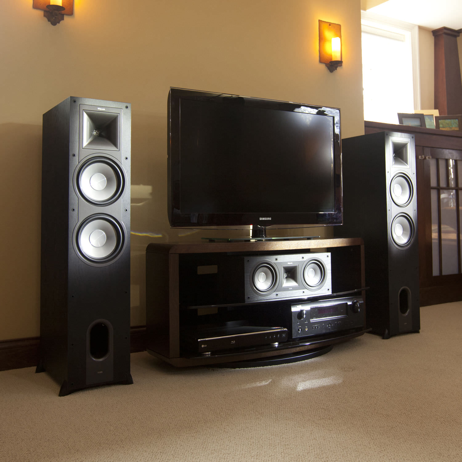 klipsch floor standing speakers. floor-standing speaker kf-28 klipsch floor standing speakers w