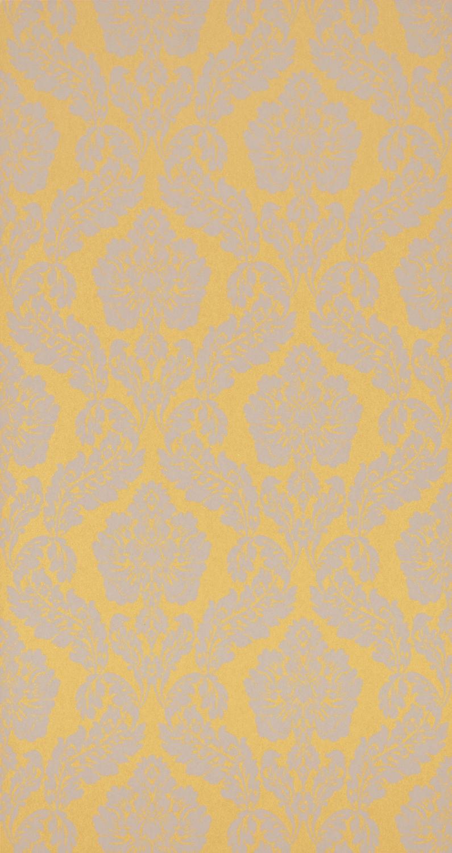 Contemporary Wallpaper Vinyl Baroque 3D Effect