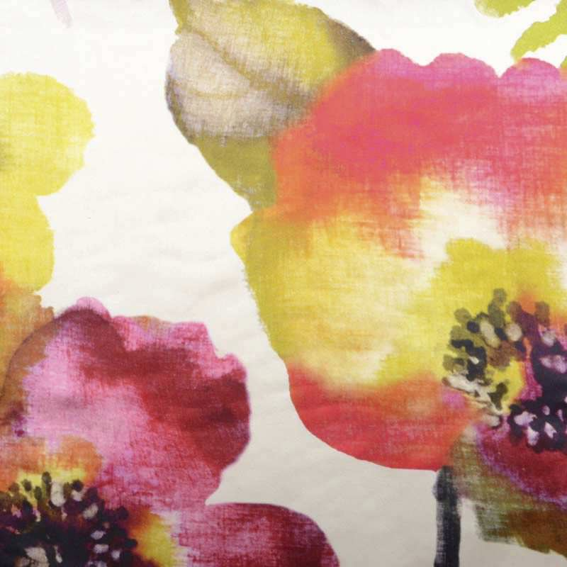 Upholstery Fabric Floral Pattern Cotton Silk Silk Traditions