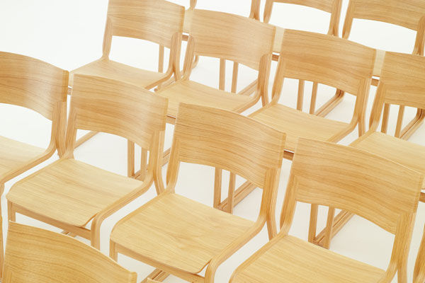 ... Contemporary Chair / Sled Base / Wooden THEO By Simon Pengelly Chorus  Furniture ...