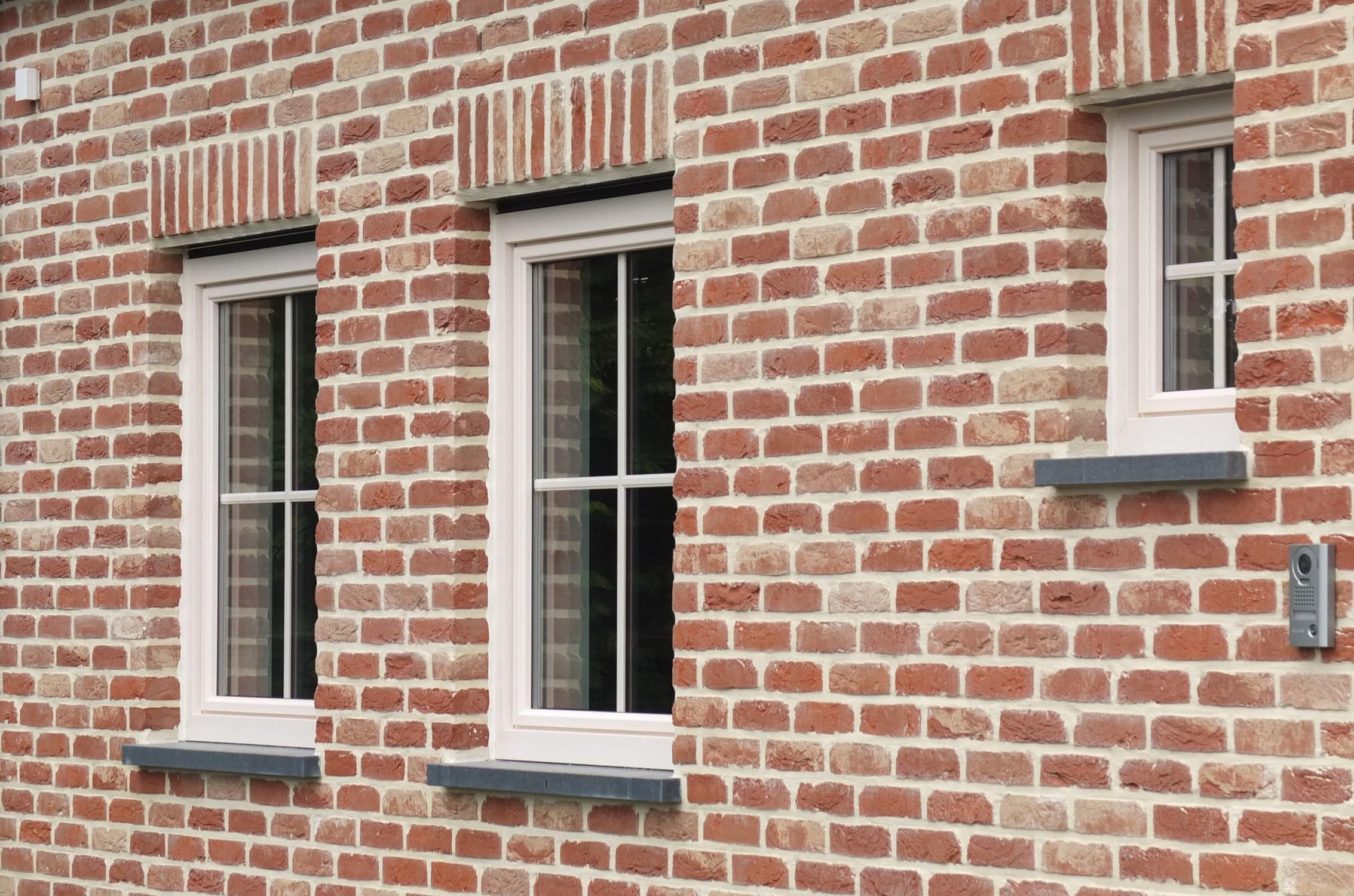 ... Facade Cladding Brick / Orange / Handmade BELLE EPOQUE DE MARCHE  Nelissen Bricks ...