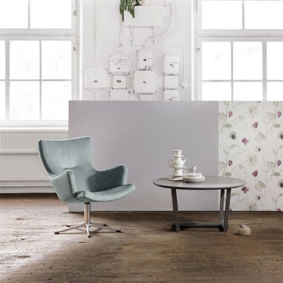 Charmant Contemporary Armchair / Fabric / Leather / Swivel ...