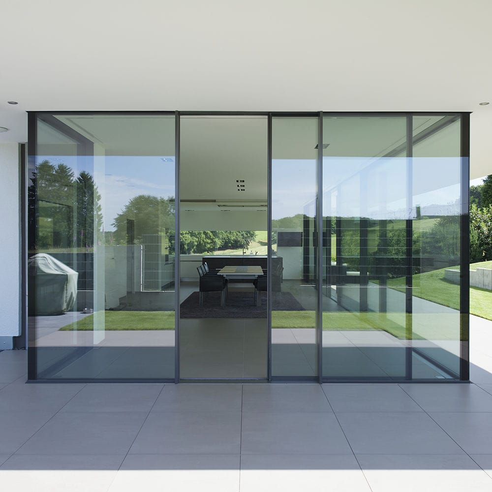 Sliding Patio Door Triple Glazed Insulated Minimal Windows4