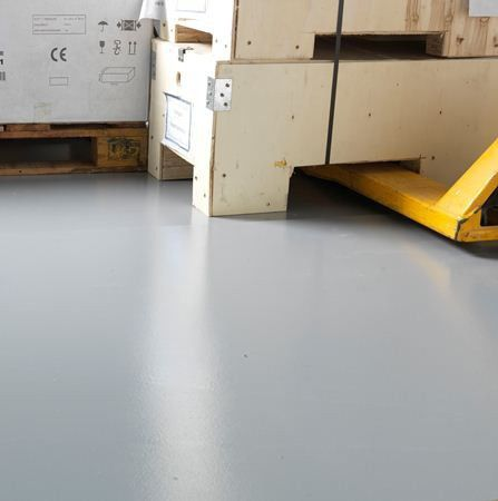 Liquid Epoxy Resin Flooring Smooth Highresistance WATCO - Mate flex flooring