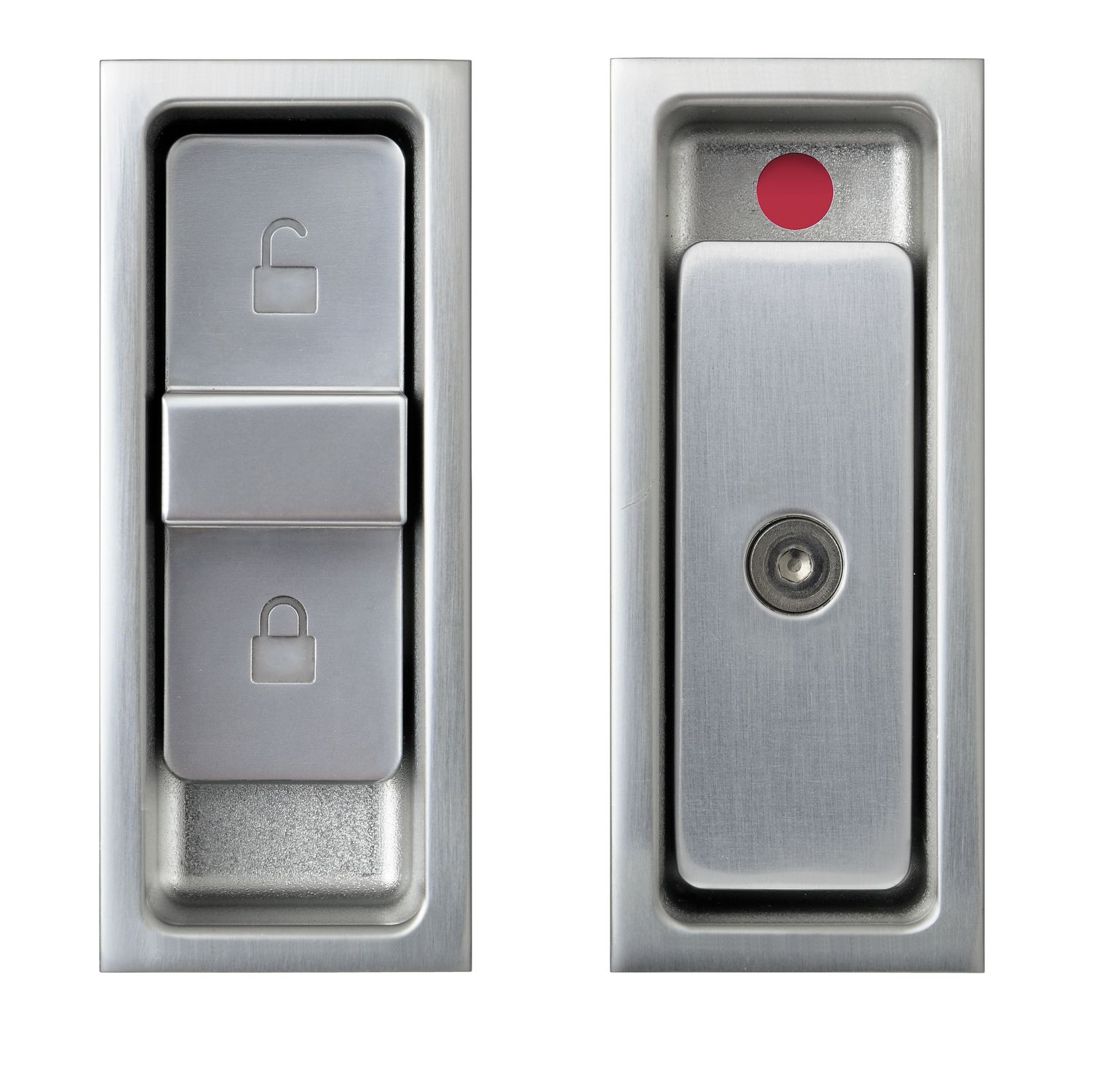 Sliding Door Handle / Aluminum / Contemporary / With Lock   Agaho S Line  427L
