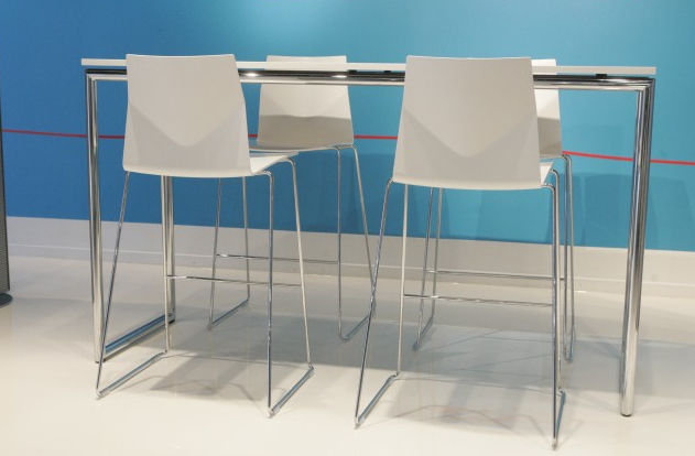 ... Contemporary High Bar Table / Wooden / Laminate / Rectangular  FOUR®STANDING By Christina Strand