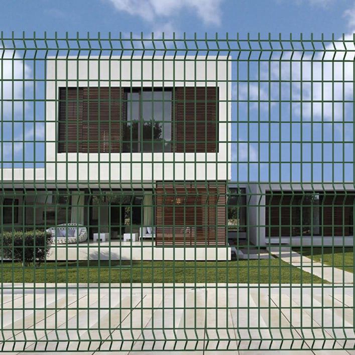 Garden Fence Welded Mesh Galvanized Steel Modular