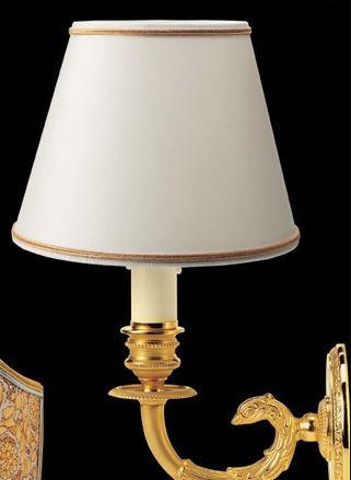 ... classic wall light / bronze / crystal / silk ... & Classic wall light / bronze / crystal / silk - CLASSIC - Versace ...