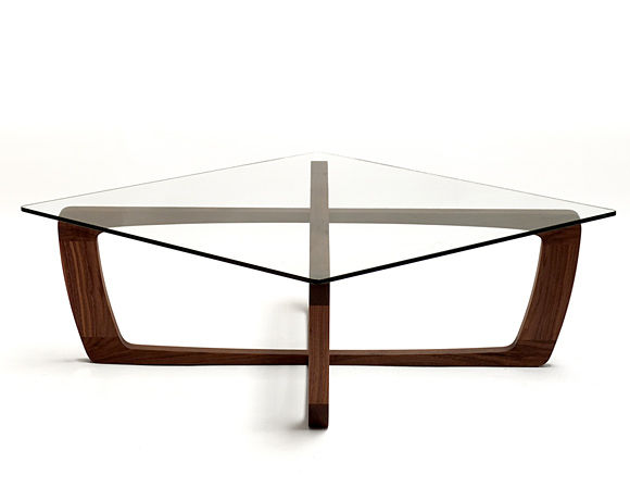 Coffee table / contemporary / glass / square - KUSTOM. - Coffee Table / Contemporary / Glass / Square - KUSTOM. - Bark