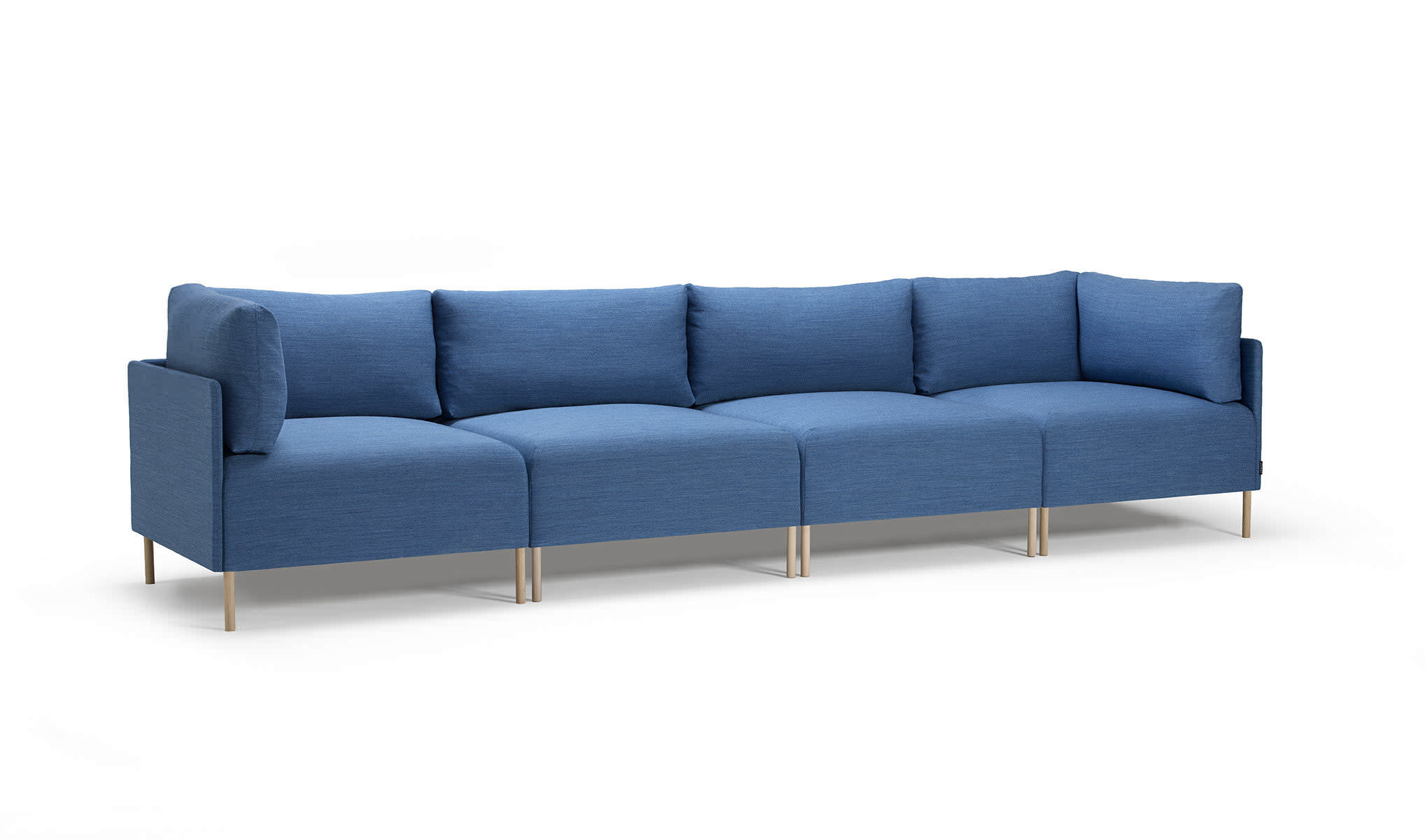 Modular sofa contemporary leather fabric BLOCKS OFFECCT