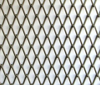 Railing woven wire fabric / aluminum / twisted - GAUDÍ-Q BRONZE - Codina