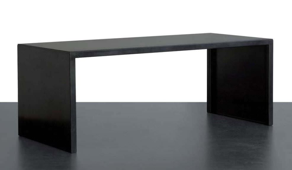 Multia Desk Steel Contemporary Commercial Big Irony By Maurizio Peregalli
