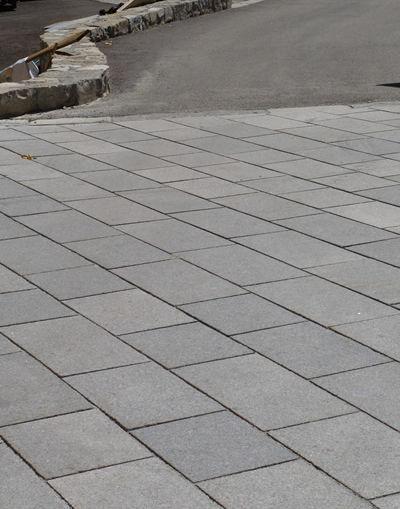 Outdoor Tile Floor Granite Bush Hammered