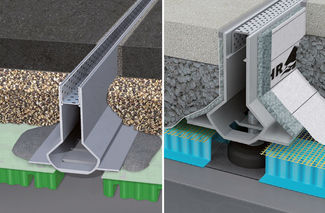 Patio Drainage Channel / Aluminum / With Central Slot / With Grating ...