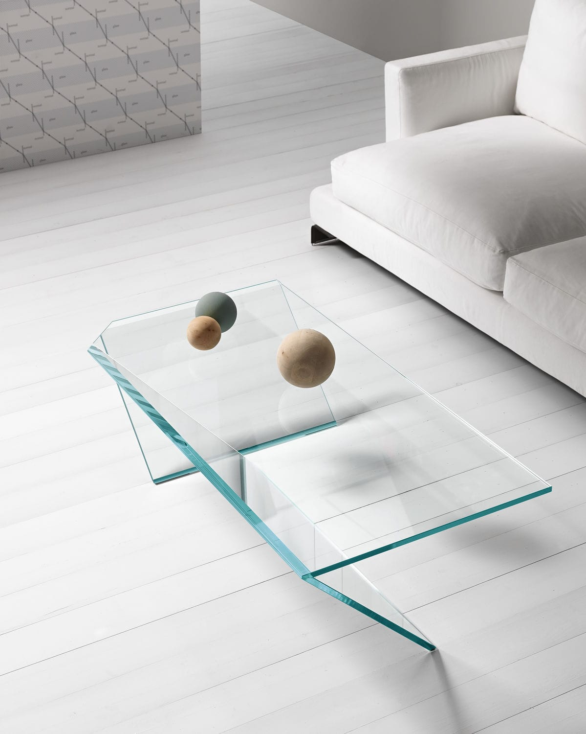 Great Contemporary Coffee Table / Glass / Rectangular / 100% Recyclable TI By  Gonzo U0026 Vicari ...