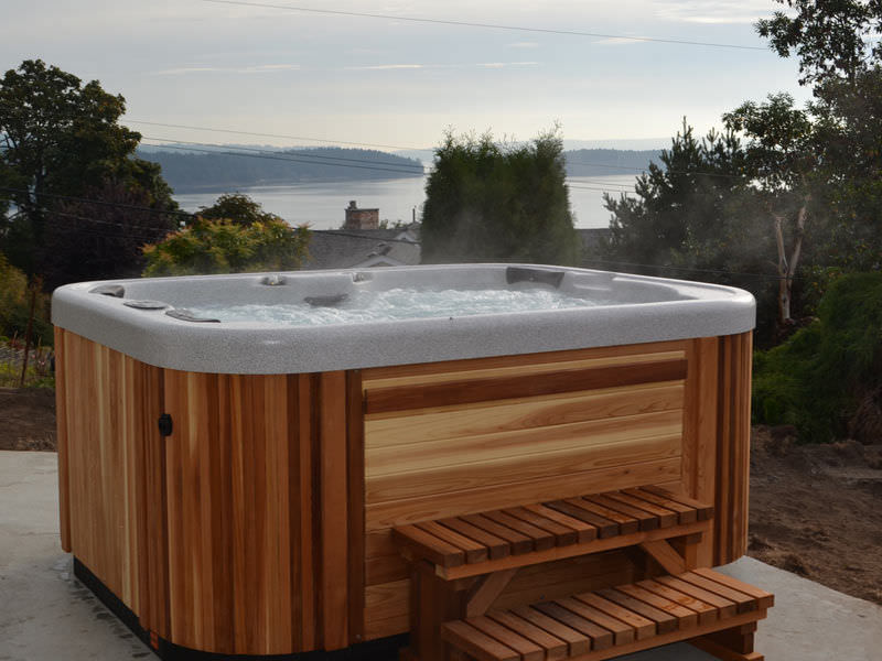 in ground hot tub diy above square traditional omega coast spas safety covers costco