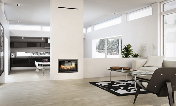 Discover all the information about the product Wood-burning fireplace insert / double-sided 2:1 - RAIS and find where you can buy it. Contact the manufacturer directly to receive a quote.