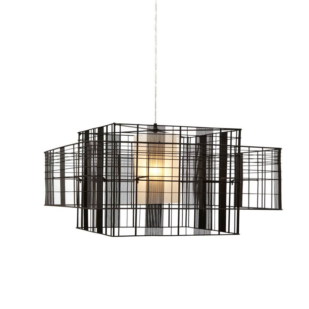 pendant l& / contemporary / metal / cube - MESH CUBIC MM  sc 1 st  ArchiExpo & Pendant lamp / contemporary / metal / cube - MESH CUBIC MM - FORESTIER