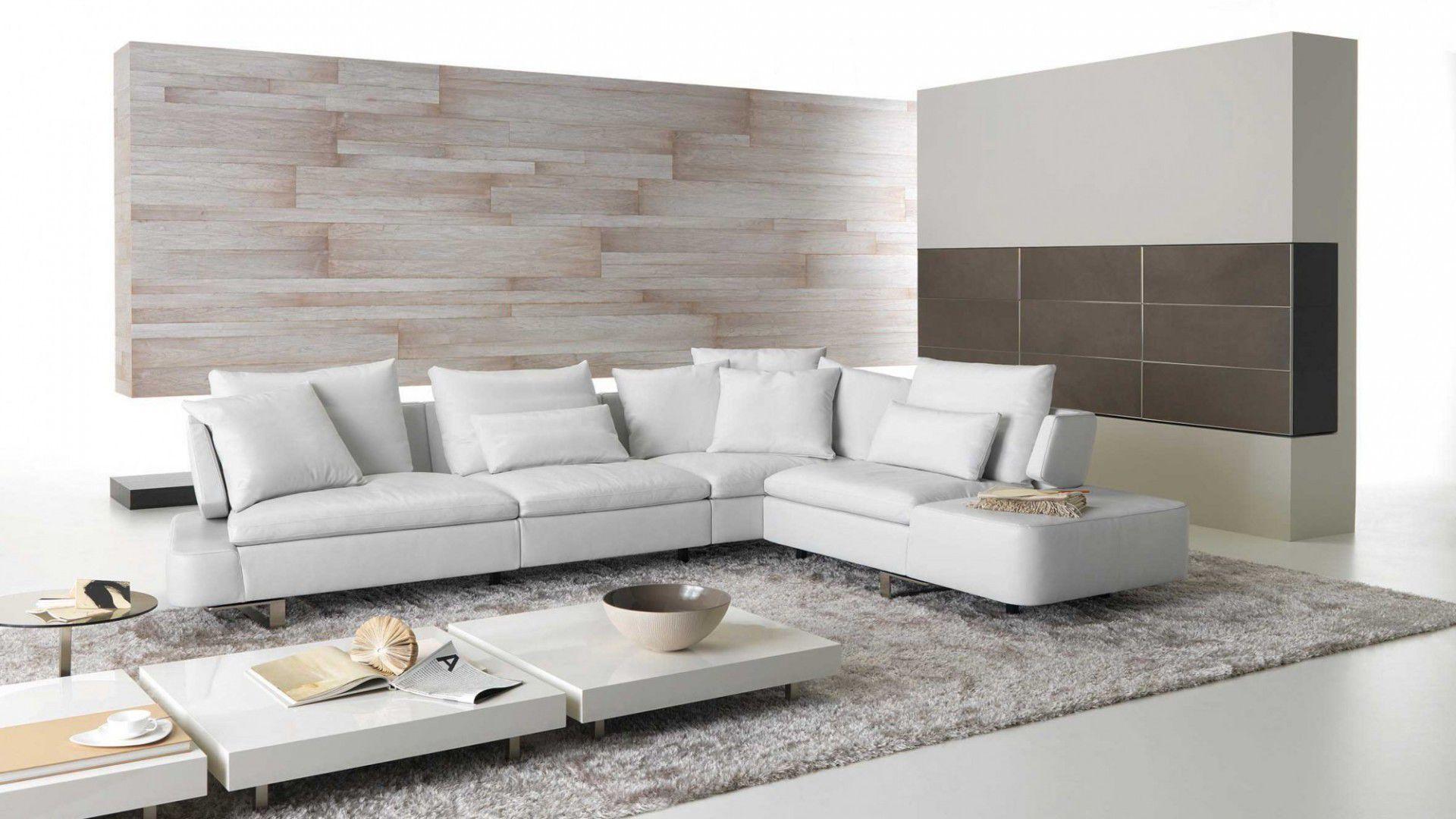 Modular sofa / contemporary / leather / fabric - OPUS - NATUZZI
