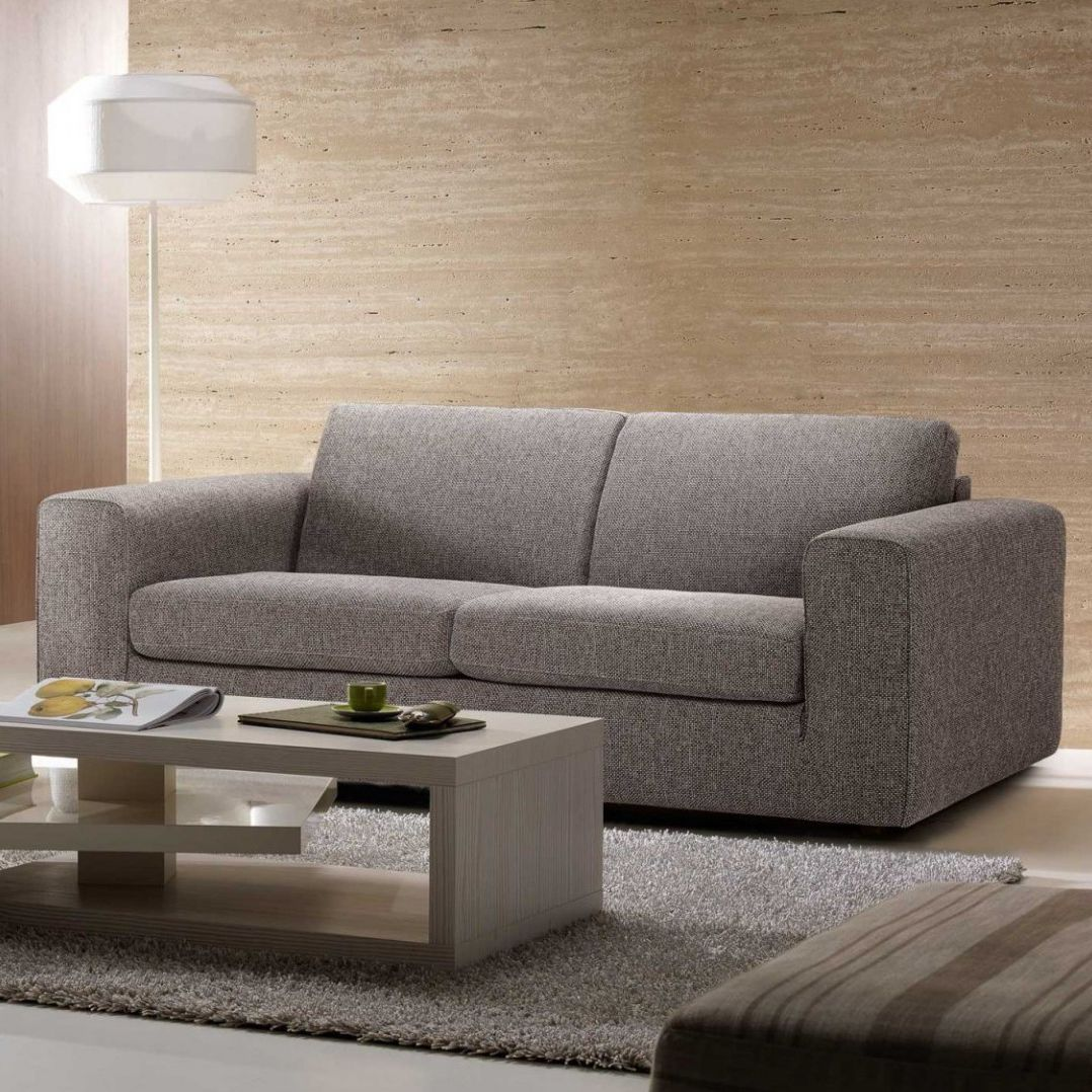 Sofa Bed Contemporary Leather Fabric Dado