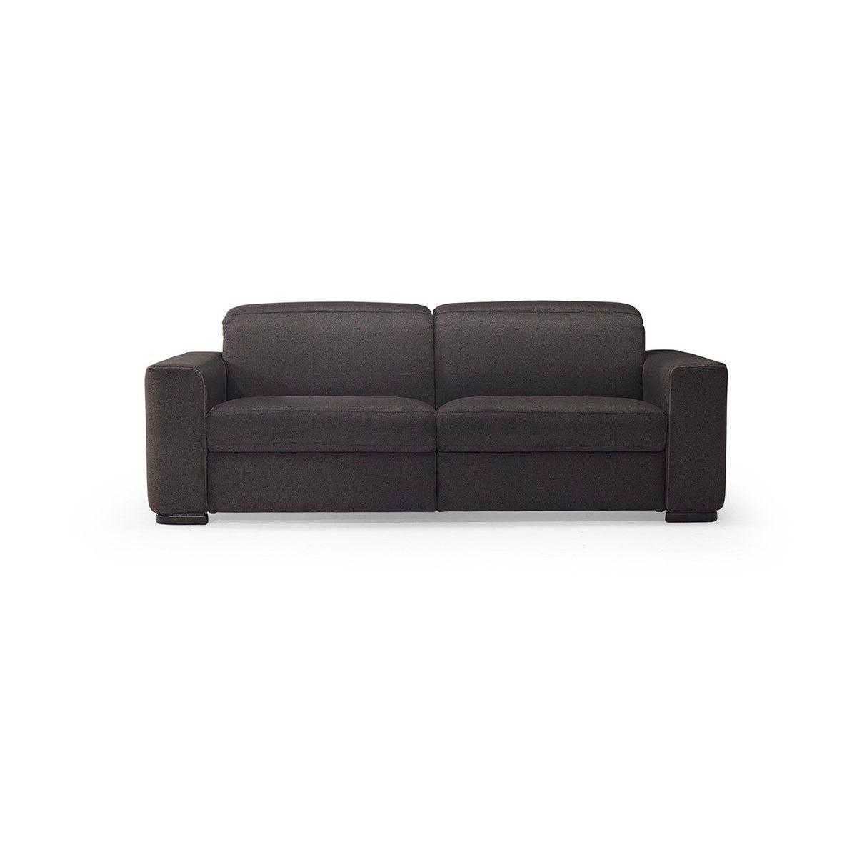 Sofa bed / contemporary / leather / fabric - DIESIS - NATUZZI - Videos