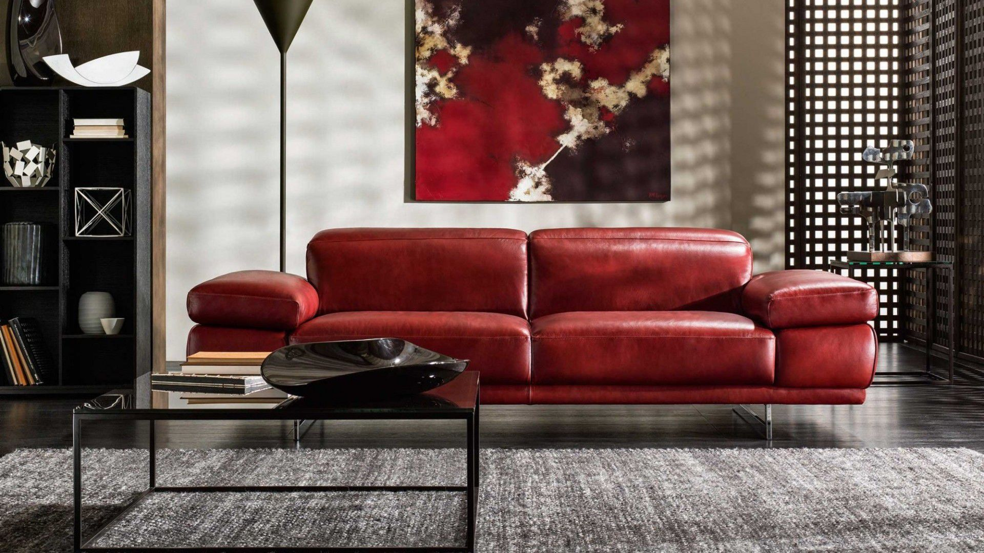 Modular Sofa / Contemporary / Leather / Fabric ...