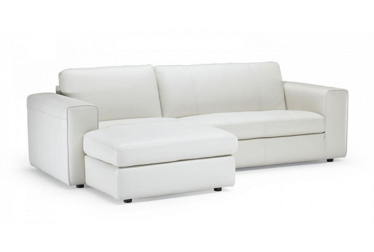 Sofa bed / contemporary / leather / fabric - DADO - NATUZZI