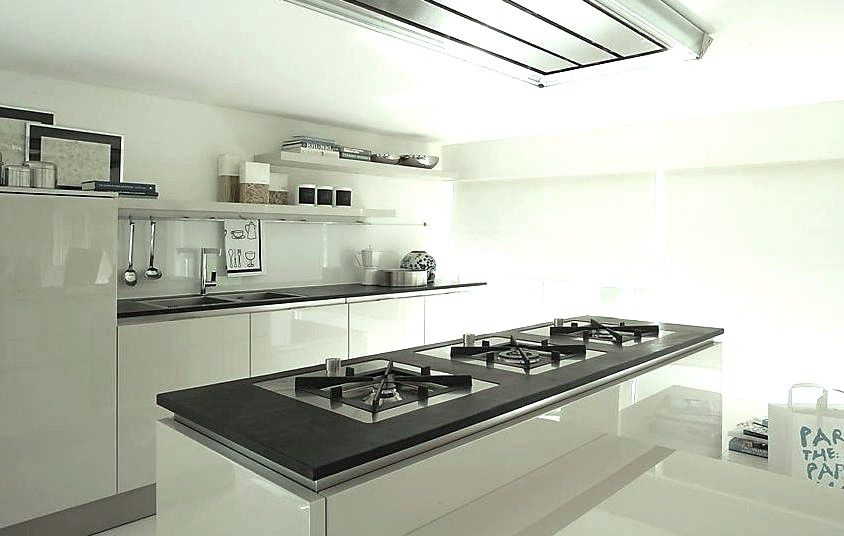 Contemporary kitchen / slate / commercial / matte - KITCHEN TOP ...