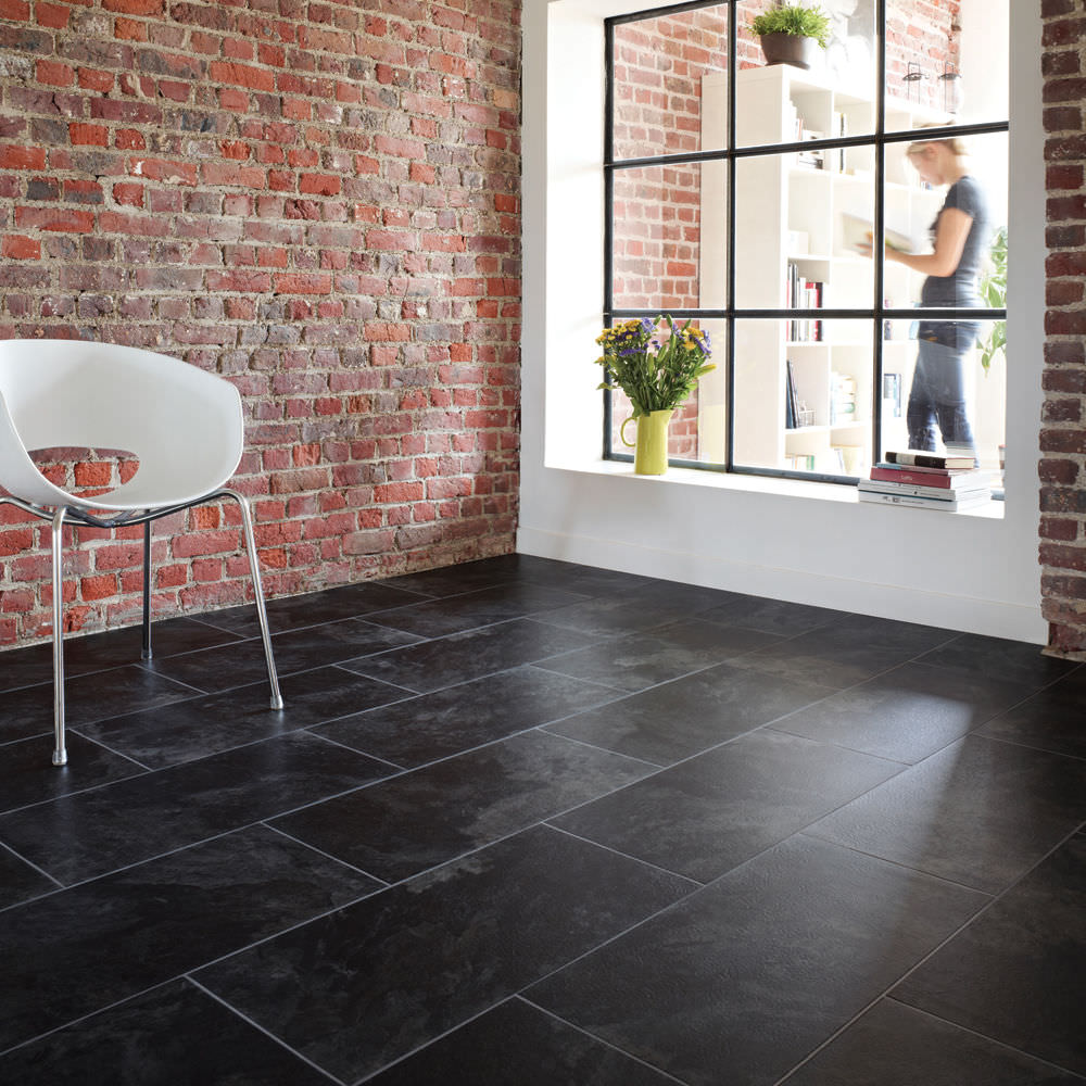 Slate Kitchen Floor Tiles Black Slate Tiles Outdoor Roselawnlutheran