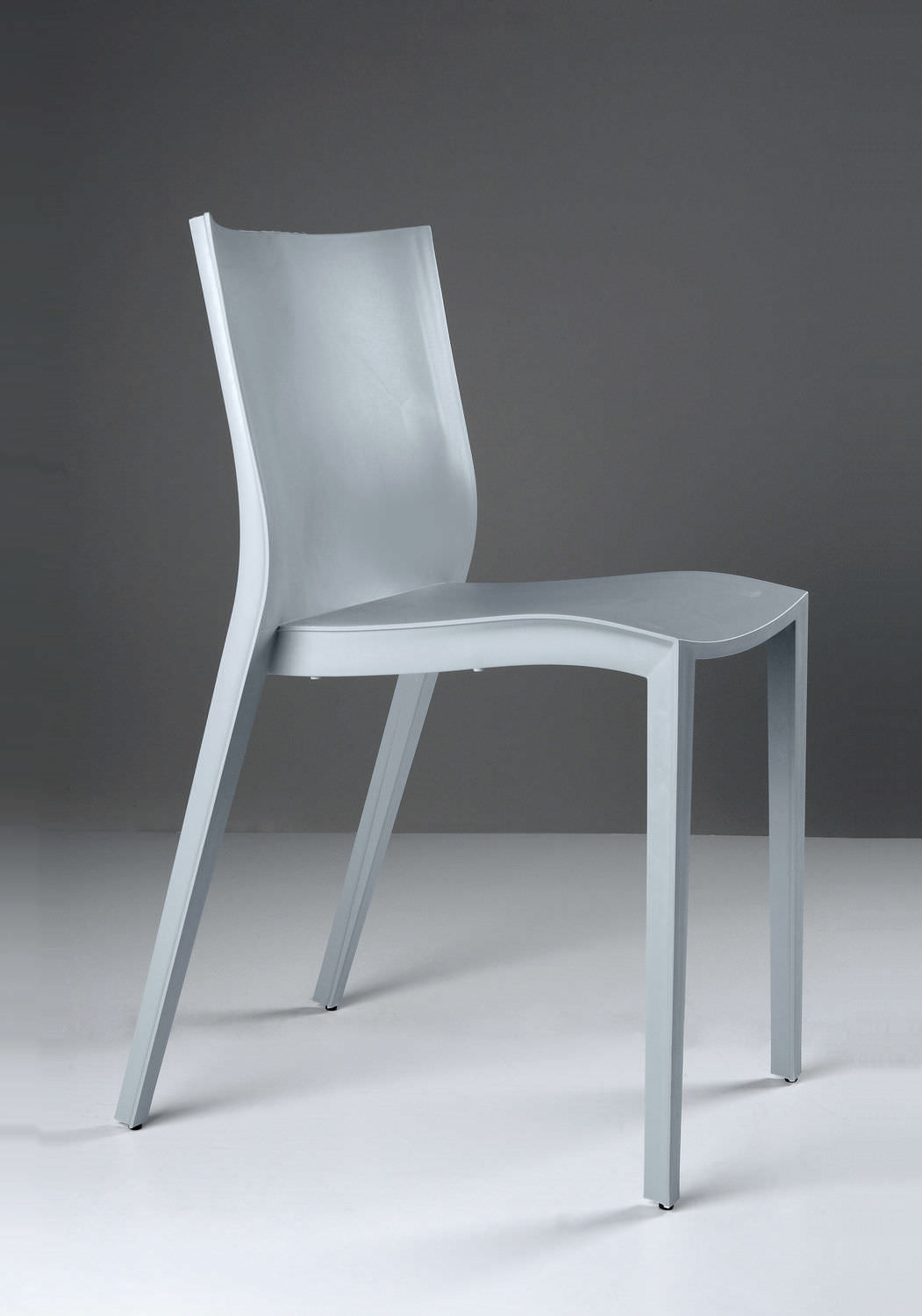 Contemporary chair / plastic / by Philippe Starck - SLICK SLICK ...
