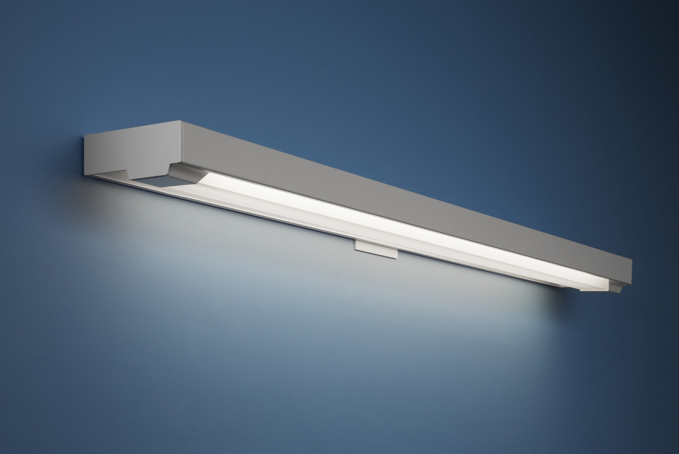Surface Mounted Light Fixture Recessed Wall Fluorescent Linear Aerial