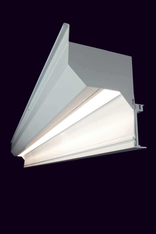Wall-mounted lighting profile / built-in / LED / modular - SLOT ...